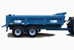 Wide Body Dump Trailers